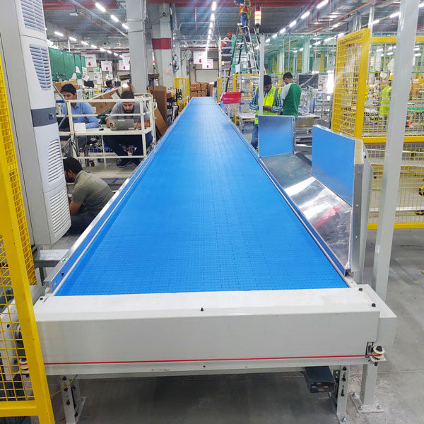 <b>Plastic Modular Belt Conveyor (Straight)</b>